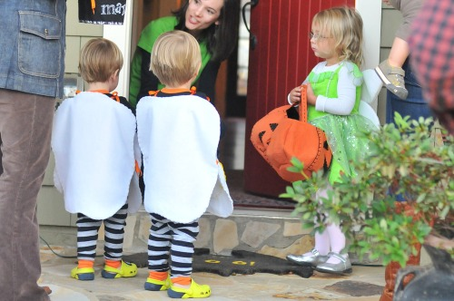 Halloweenboysdoor