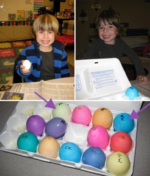 egg heads.